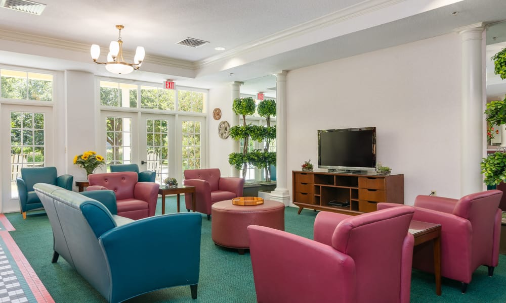 Ice Cream Parlor lounge at Arbor Oaks at Tyrone in St Petersburg, Florida