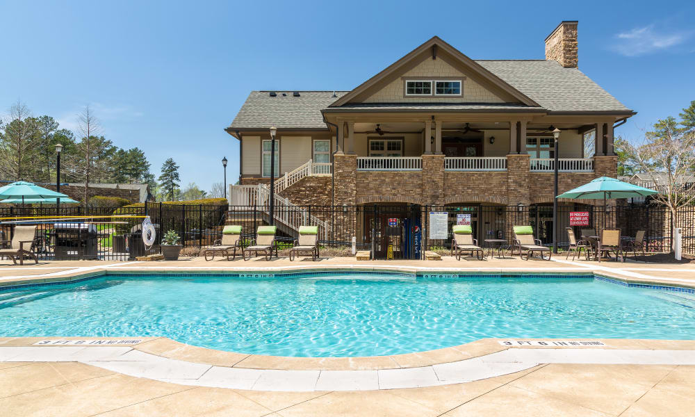 Enjoy our private swimming pool at Townhomes at Chapel Watch Village in Townhomes at Chapel Watch Village, North Carolina