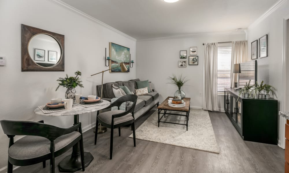 Our apartments in Hattiesburg, Mississippi showcase a beautiful living room