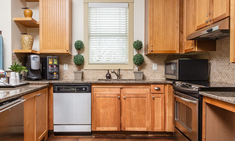 Kitchen area at Cosgrove Hill in Chapel Hill