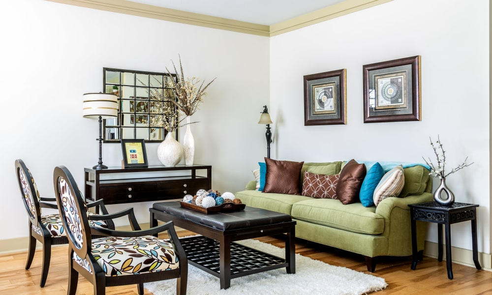 Spacious living room at Cosgrove Hill