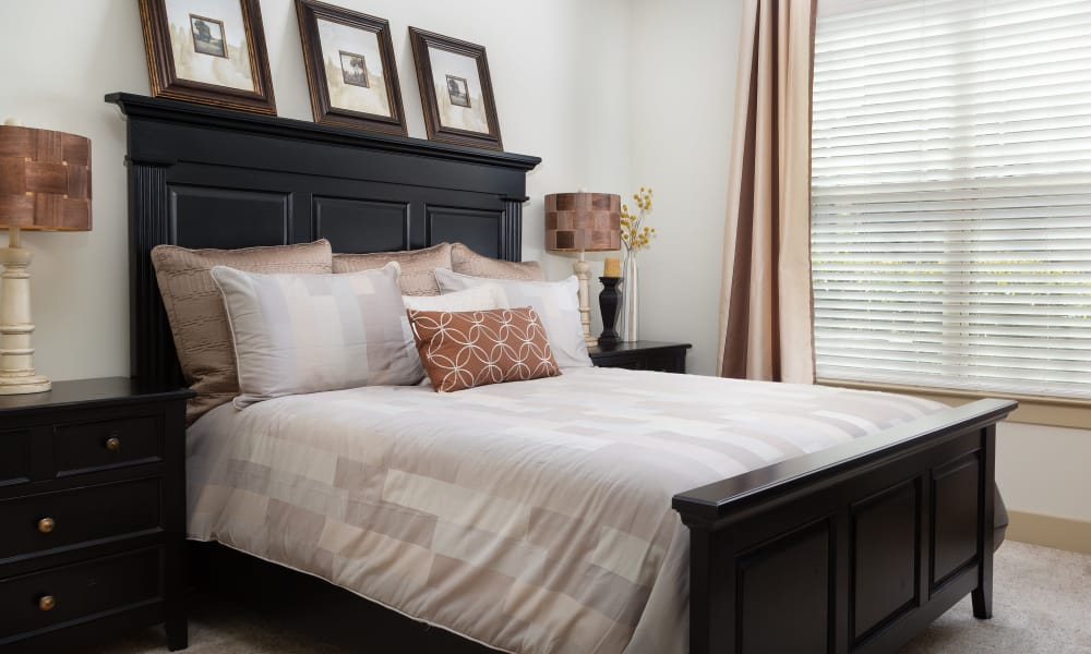 Beautiful bedroom at Cosgrove Hill in Chapel Hill