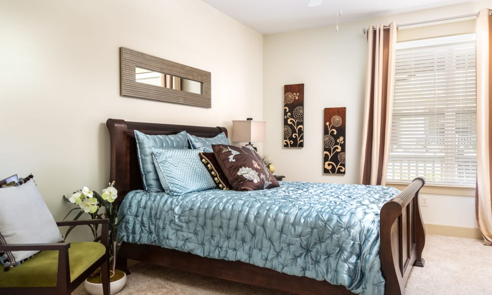 Spacious bedroom at Cosgrove Hill in Chapel Hill