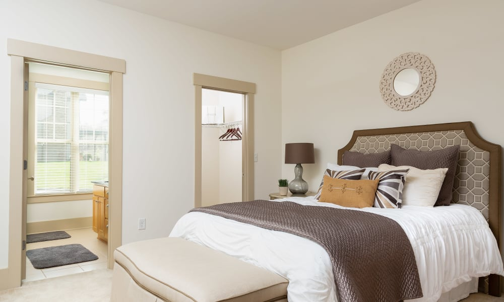 Bedroom at Townhomes at Chapel Watch Village in Chapel Hill, North Carolina