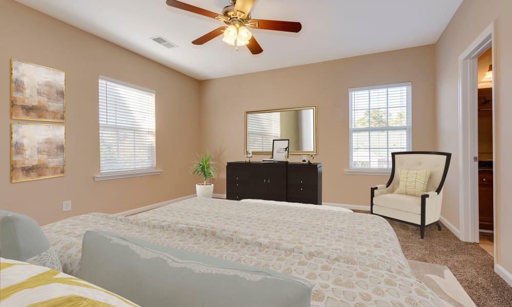 Bedroom at The Waterway Apartment Homes in Lexington, SC