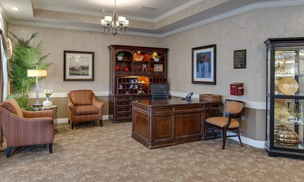 Main office at Mill Creek Village Senior Living in Columbia, Missouri