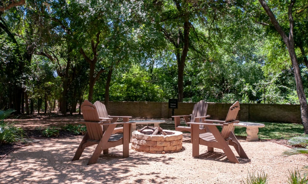 Outdoor amenities at The Niche Apartments in San Antonio, TX