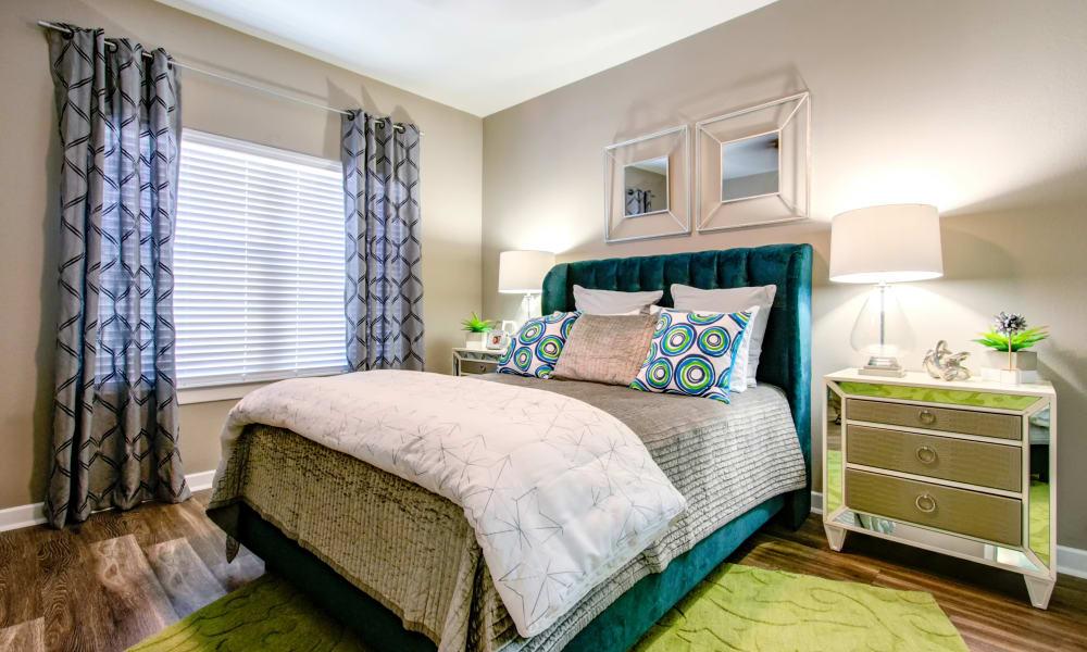 Bedroom at The Niche Apartments in San Antonio, TX