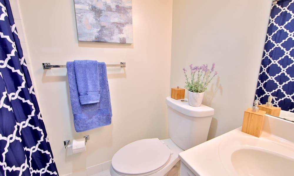 Bathroom at Stoneridge at Mark Center Apartment Homes in Alexandria, Virginia