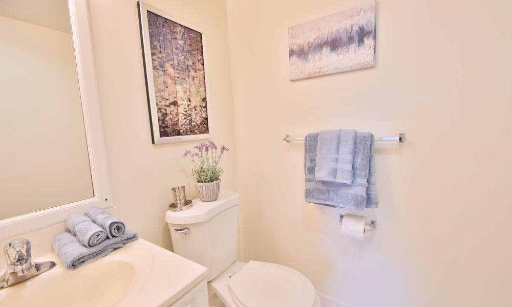 Bathroom at Stoneridge at Mark Center Apartment Homes in Alexandria, VA