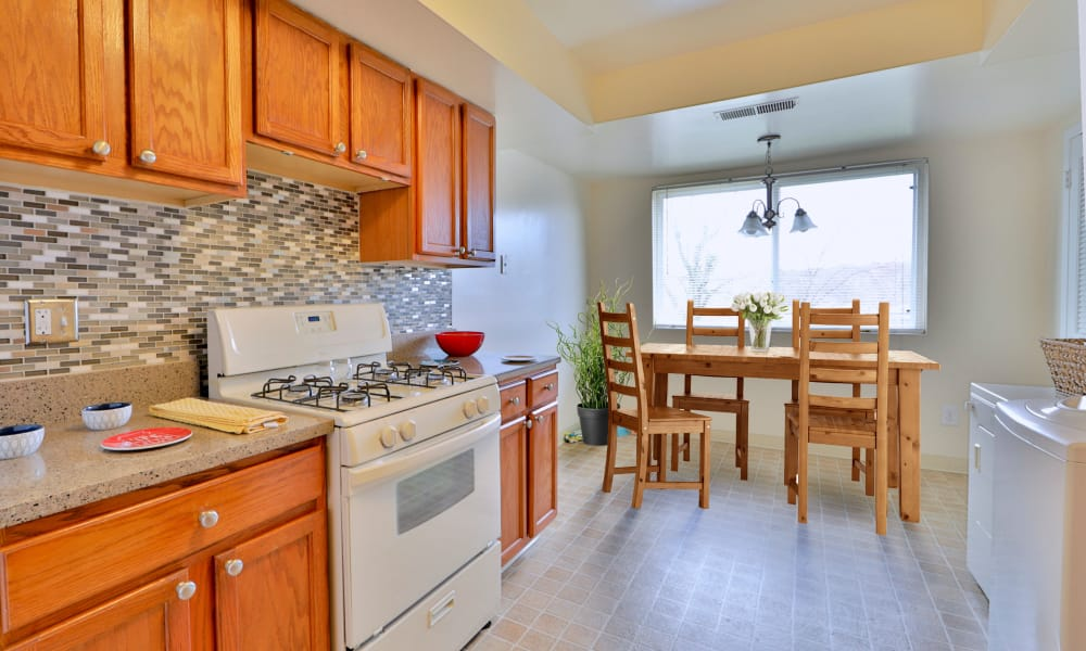 Lovely Kitchen at Westerlee Apartment Homes in Baltimore, Maryland