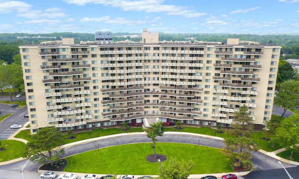 Beautiful apartments avaliable at Towers of Windsor Park Apartment Homes in Cherry Hill, NJ