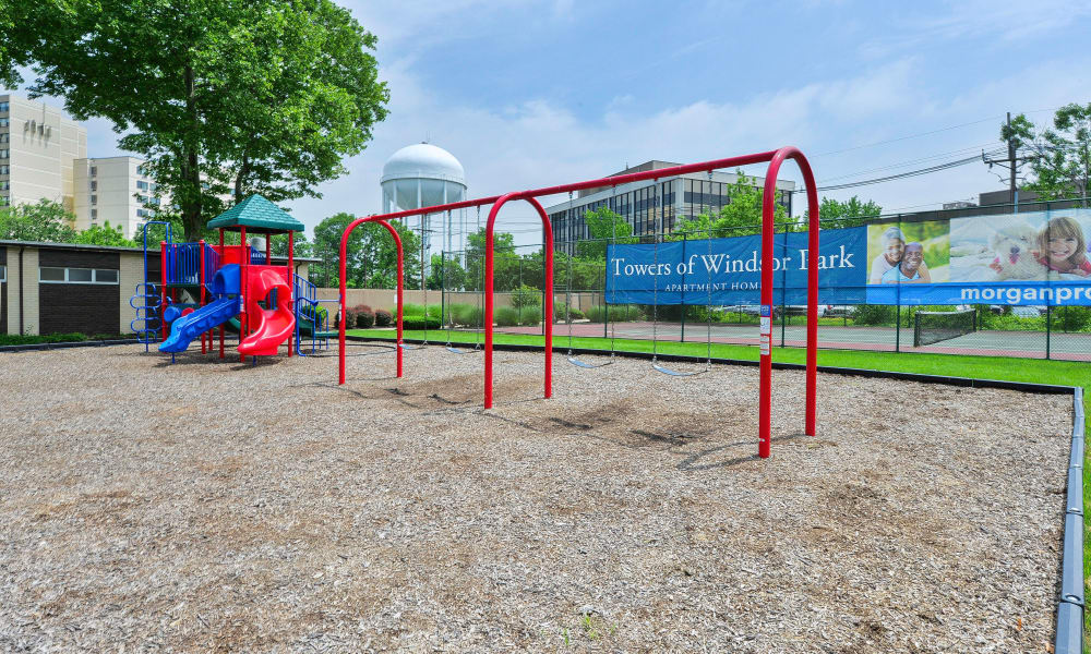 Playground at Towers of Windsor Park Apartment Homes in Cherry Hill, NJ