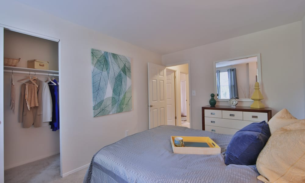 Bedroom at Silver Spring Station Apartment Homes in Baltimore, MD