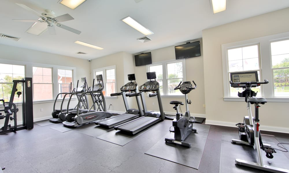 Fitness center Silver Spring Station Apartment Homes in Baltimore, MD