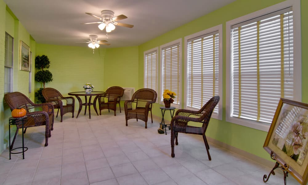 Sun Room at The Arbors at Lakeview Bend in Mexico, Missouri