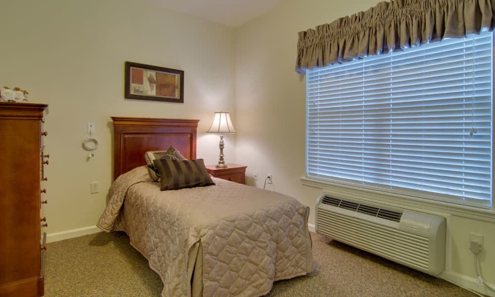 Independent living space at Parkway Gardens Senior Living in Fairview Heights, Illinois