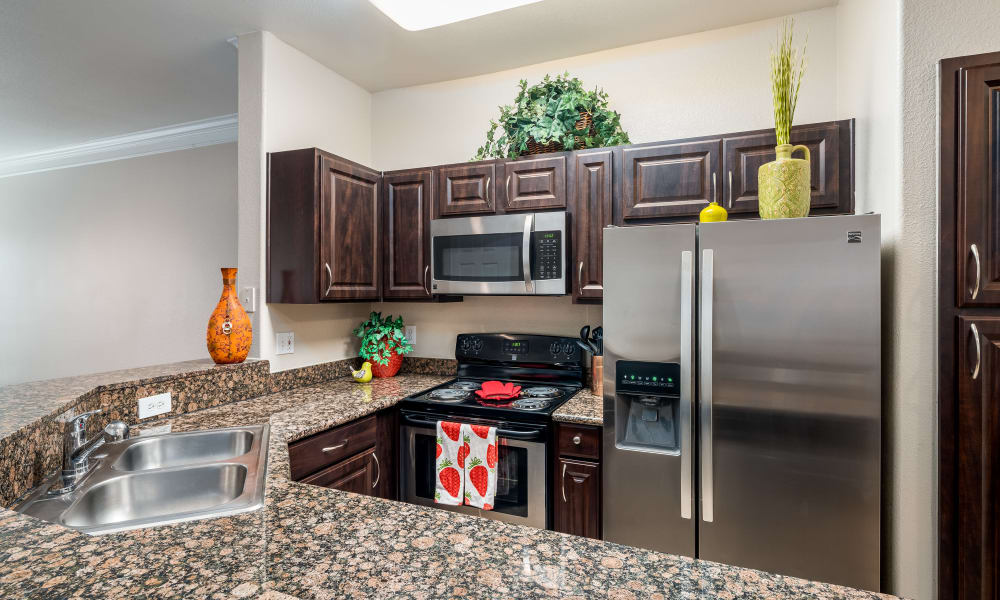 Luxury residents clubhouse at Villas at Parkside in Farmers Branch, Texas