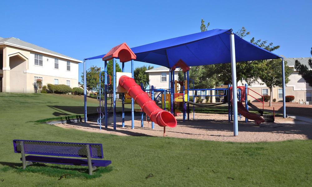 Playground at The Patriot Apartments in El Paso, Texas