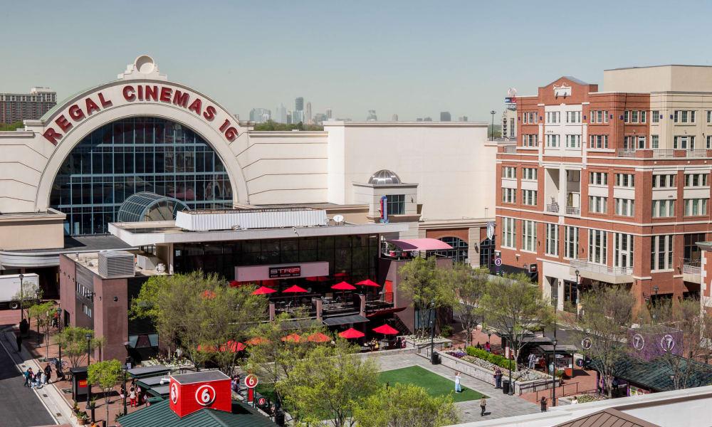 Cinema near 17th Street Lofts in Atlanta, Georgia