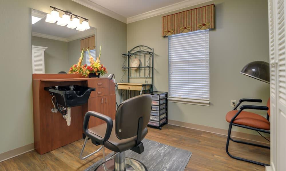 Westbrook Terrace Senior Living offers a salon in Jefferson City, Missouri