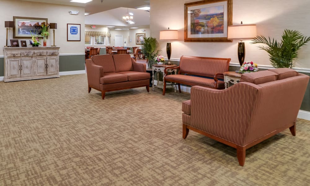 Common area at Westbrook Terrace Senior Living in Jefferson City, MO