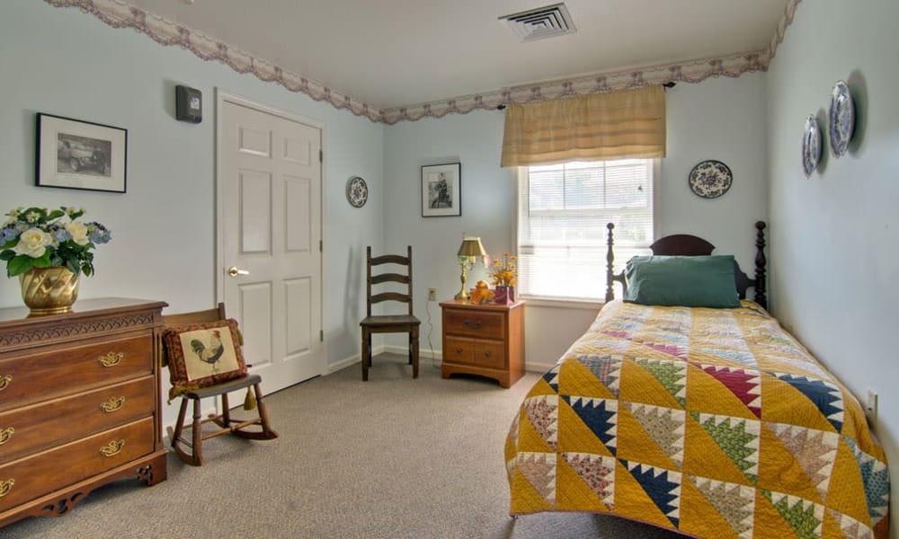 One bedrooms available at Bluff Creek Terrace Senior Living in Columbia, Missouri