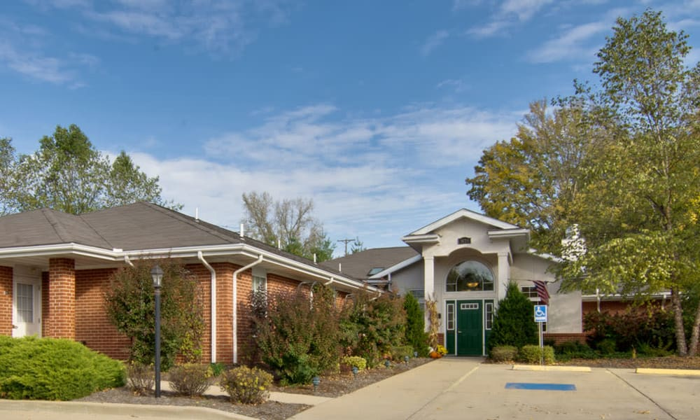 Memory care office at South Pointe Senior Living in Washington, Missouri