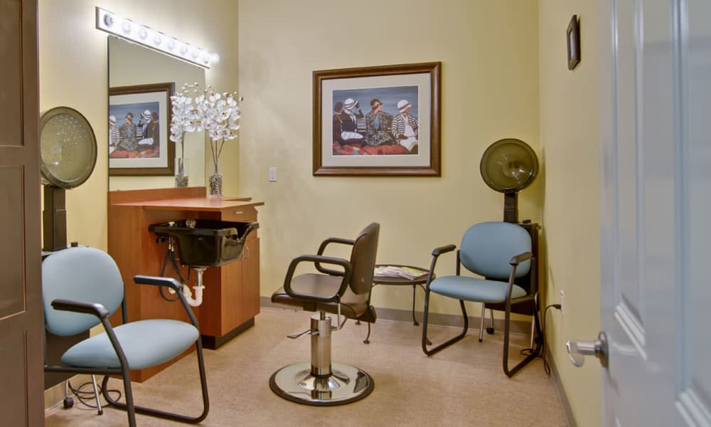 Salon at Sugar Creek Senior Living in Troy, MO