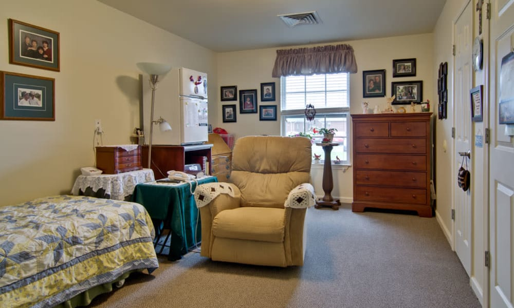 Studios available at Parkwood Meadows Senior Living in Sainte Genevieve, Missouri