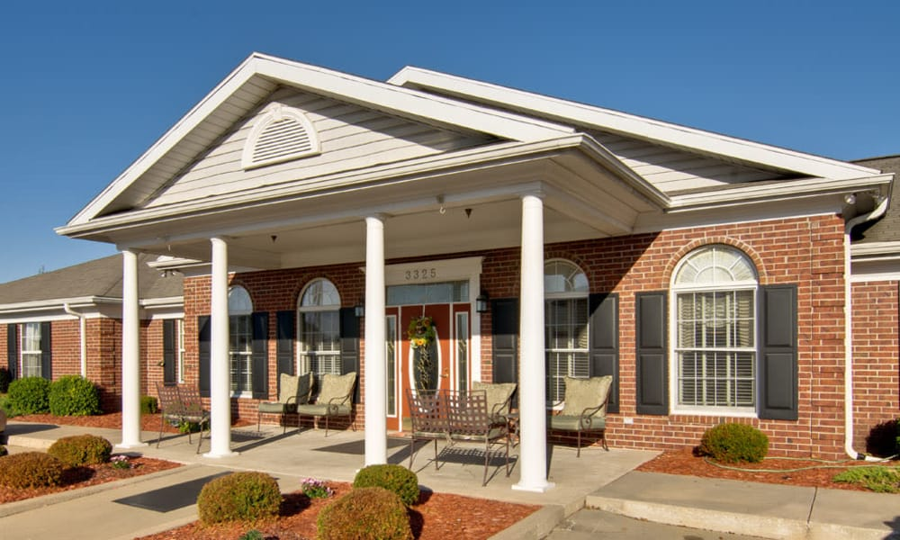 The administration building at Silver Creek Senior Living in Joplin, Missouri