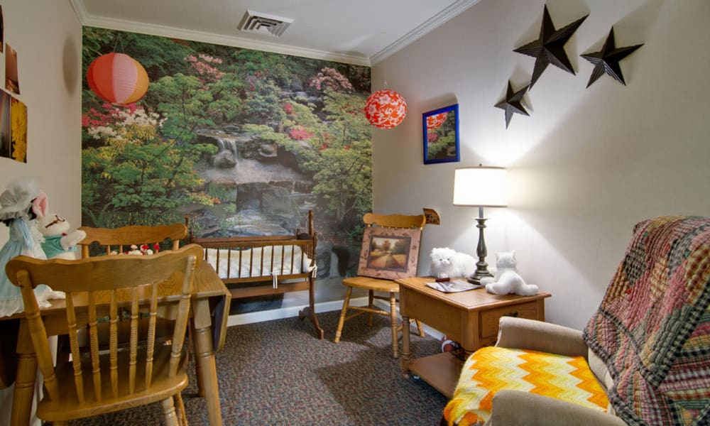 Memory care stimulation room at Silver Creek Senior Living in Joplin, Missouri