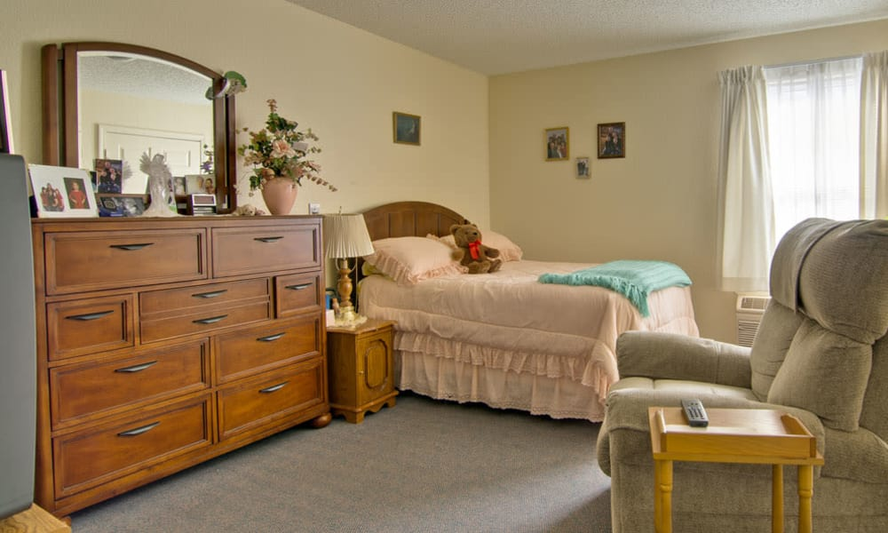 Studios available at Silver Creek Senior Living in Joplin, Missouri