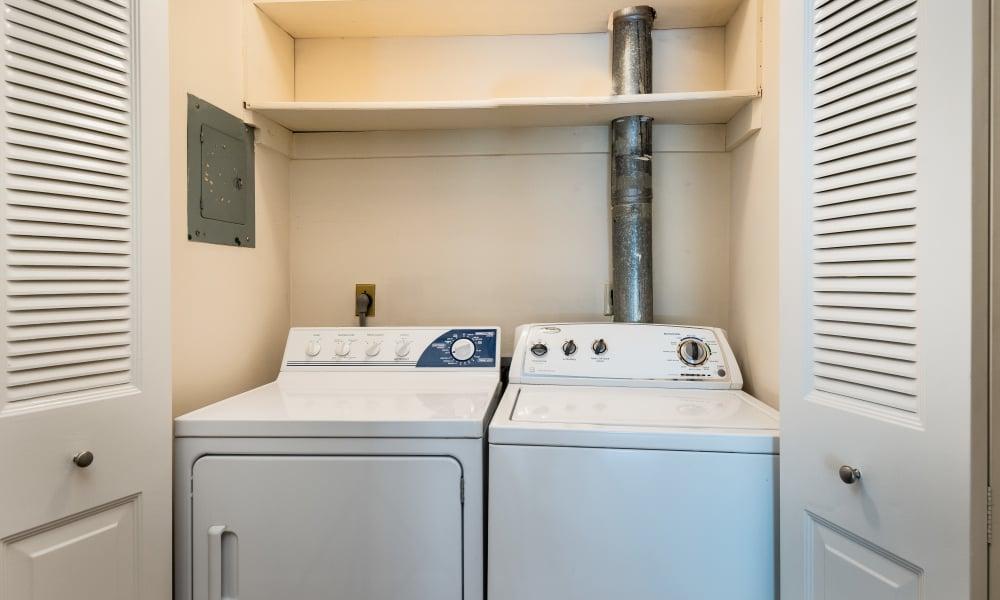 Laundry room at Regency Lakeside Apartment Homes in Omaha, NE