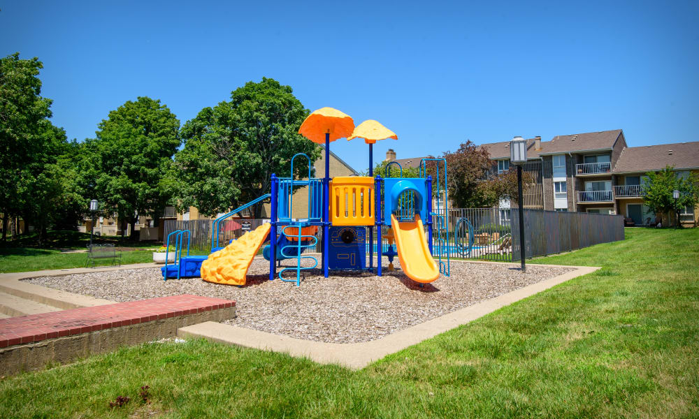 Playground at Regency Lakeside Apartment Homes in Omaha, NE