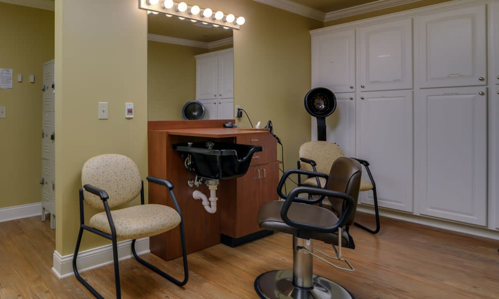 Community spa for residents at Azalea Court Senior Living in Smyrna, Tennessee