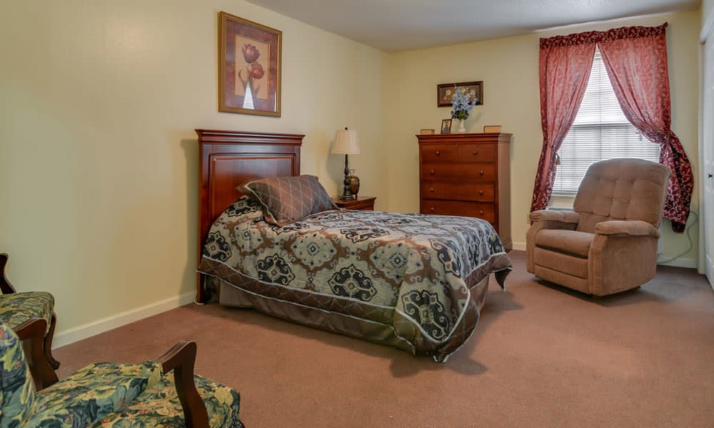 Shared living spaces available at Azalea Court Senior Living in Smyrna, Tennessee