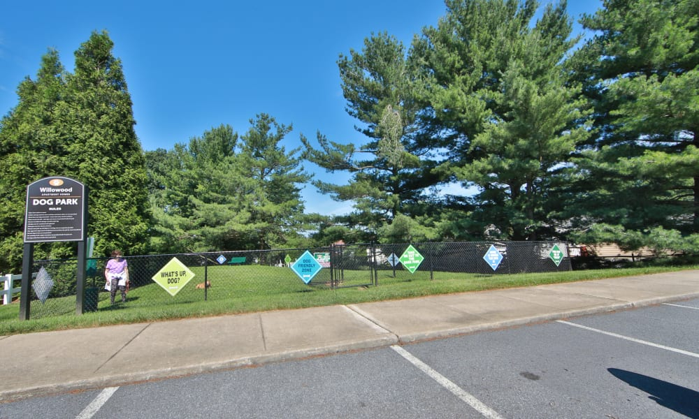 Our Apartments in Westminster, Maryland offer a Dog Park