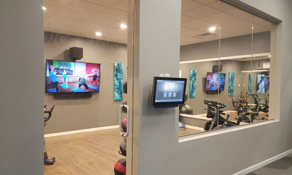 State-of-the-art fitness center at Environs Residential Rental Community in Westminster, Colorado