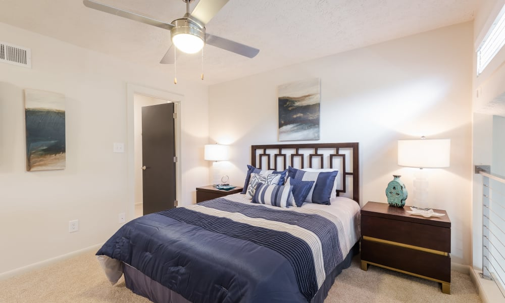 Our beautiful apartments in Smyrna, Georgia showcase a bedroom