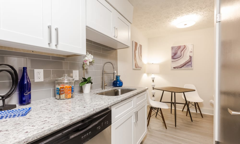Enjoy our unique apartments kitchen at The Arlowe in Smyrna, Georgia