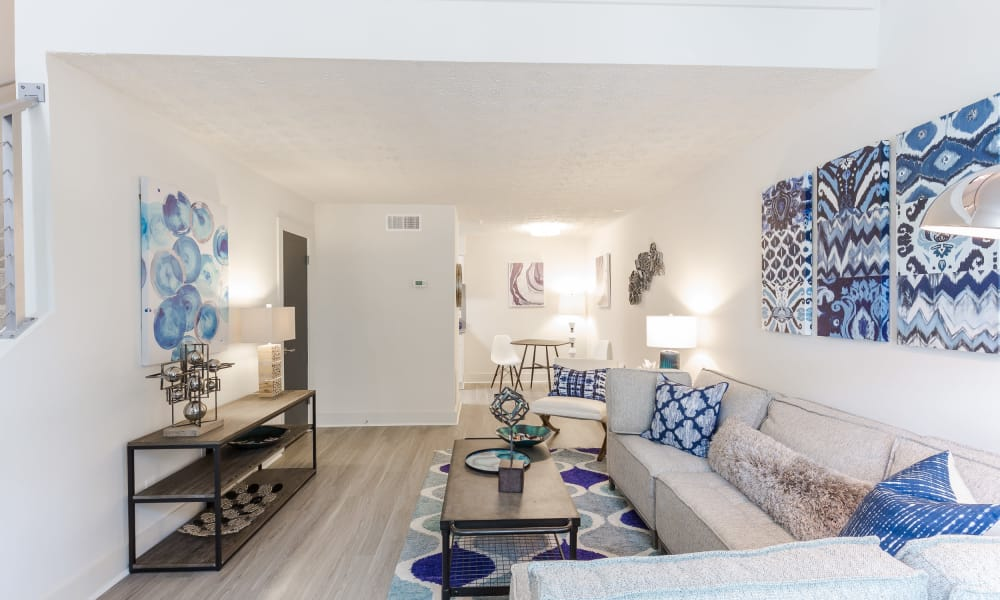 Our beautiful apartments in The Arlowe, Smyrna, Georgia showcase a living room