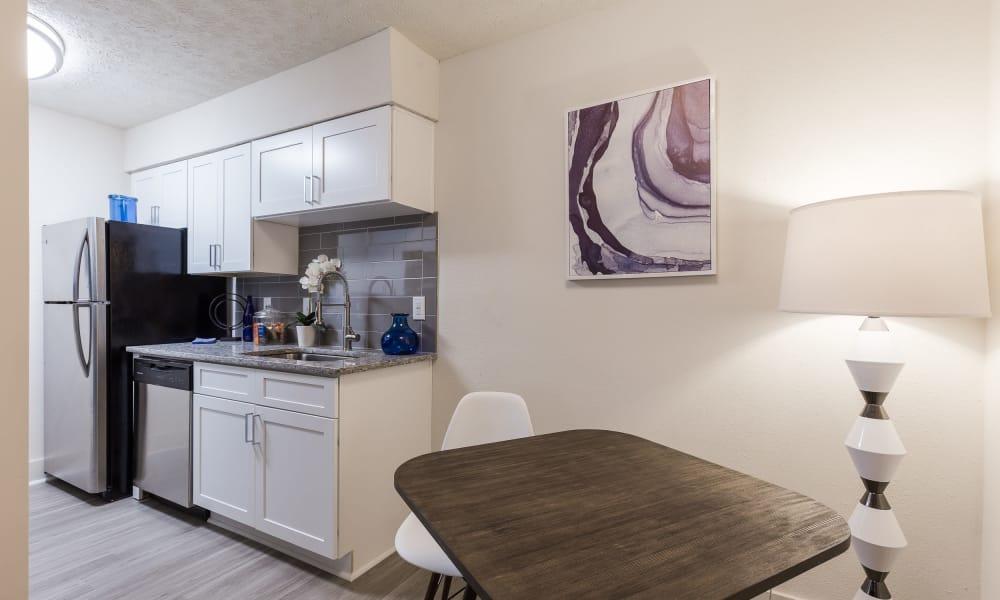 Our unique apartments in Smyrna, Georgia showcase a kitchen