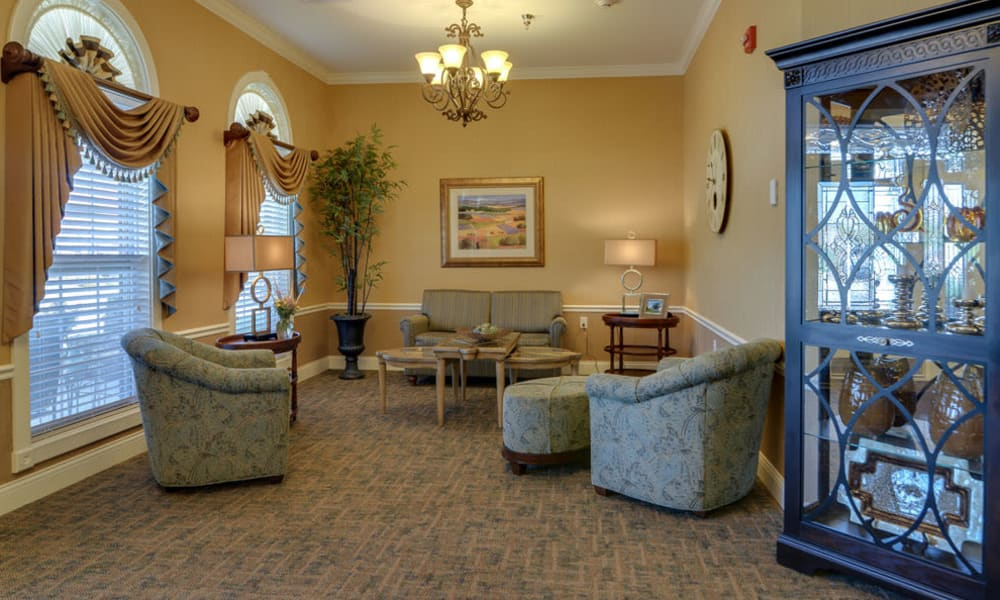 Entrance interior at Colony Pointe Senior Living in Columbia, Missouri