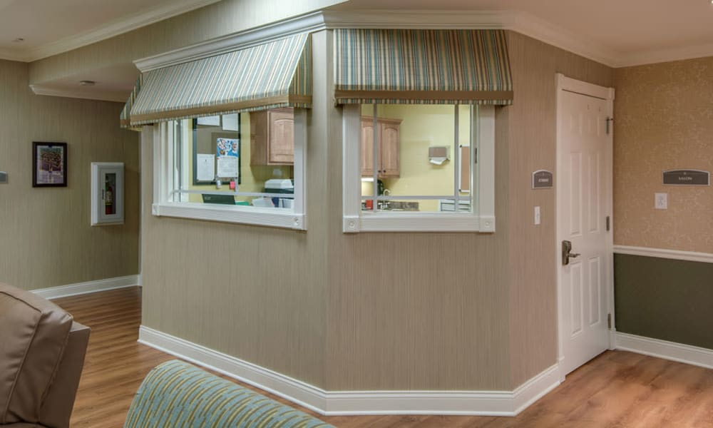 Main office at South Breeze Senior Living in Memphis, Tennessee