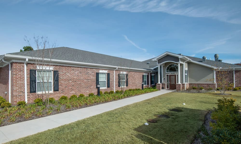 Memory Care building at South Breeze Senior Living in Memphis, Tennessee
