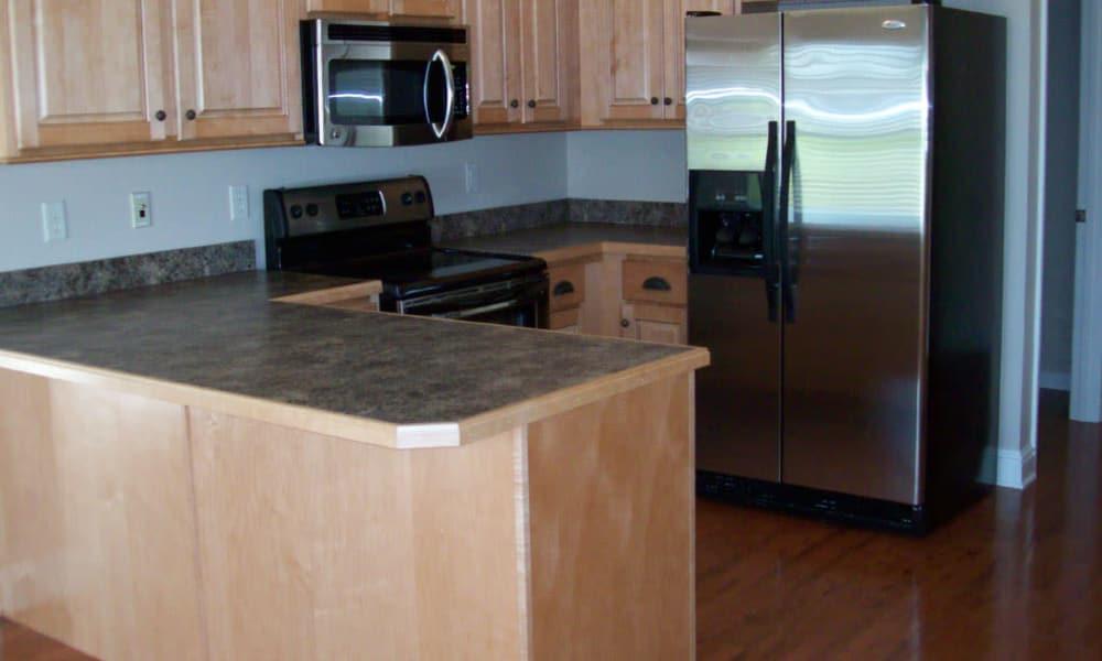 Model kitchen at Hartmann Village Senior Living in Boonville, Missouri