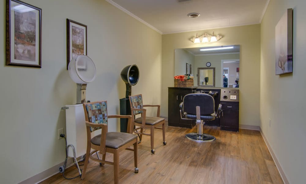 On-site salon at North Point in Paola, Kansas