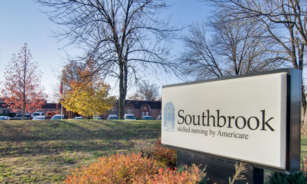 Branding and Signage outside of Southbrook in Farmington, Missouri