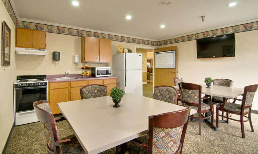 Resident kitchen at Heritage Nursing Center in Kennett, MO